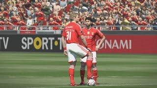 PES 2015: SL Benfica - AC Milan (PC 1080p Stadium Pack NO HUD 60fps)