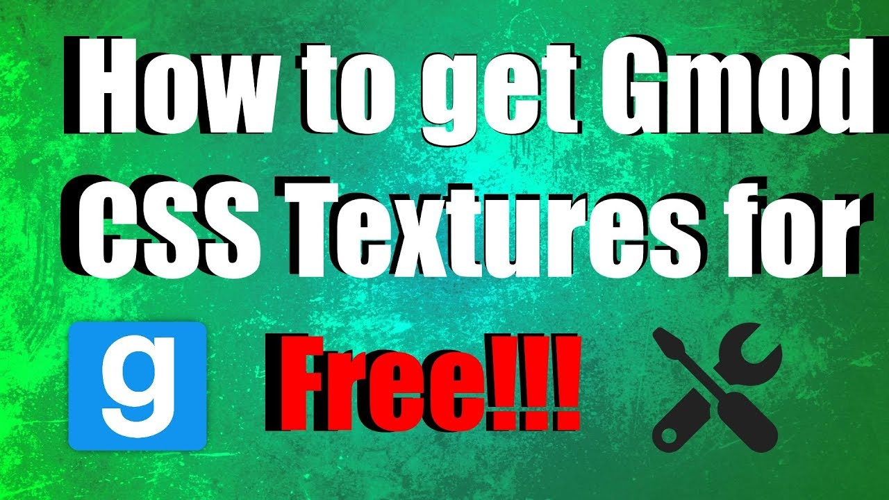 Css textures for gmod 2018 | How to fix missing CS:S textures in