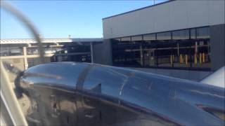 Embraer EMB-120 Brasilia Startup KSLC 121514