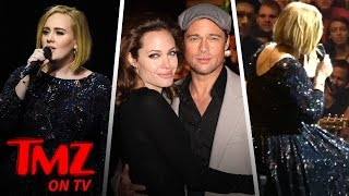 Adele Sends Her Love to Brangelina (TMZ TV)