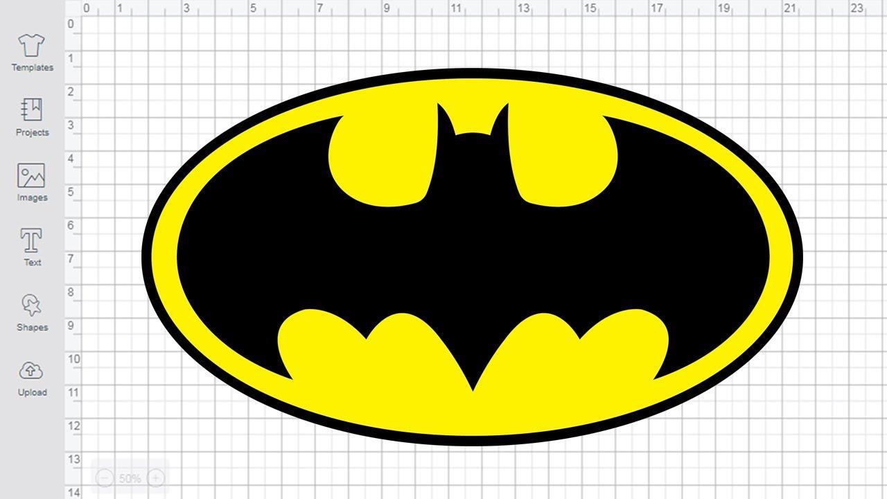 Batman Logo SVG free Cut files for cricut silhouette - YouTube