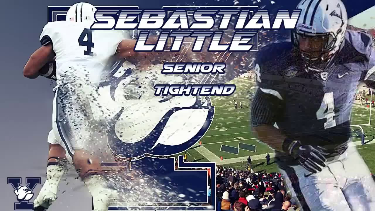 Sebastian Little - Yale Football Highlight Film