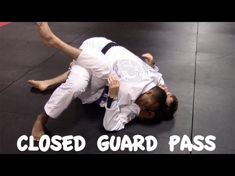 Closed Guard Pass: Frogger Pass and Arm Bar with Professor Ricardo Tubbs Chesapeake, VA BJJ