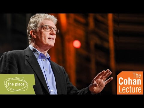Sir Ken Robinson delivers The Cohan Lecture 2016