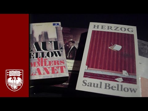UChicago Library archives reveal personal side of Saul Bellow
