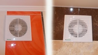 видео Вентиляция в туалете и ванной: как сделать принудительную вытяжку