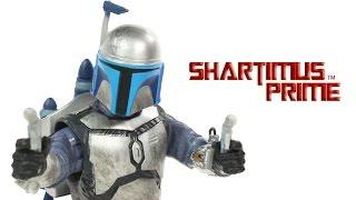 Star Wars Jango Fett Black Series 6 Inch Attack of the Clones Episode II Movie Toy Action Figure Rev