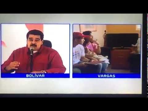 Maduro afirma que los venezolanos están jodidos pero felices