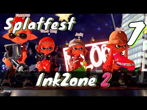 [7] Inkzone 2 (Let's Play Splatoon 2 Multiplayer w/ GaLm and Tom)
