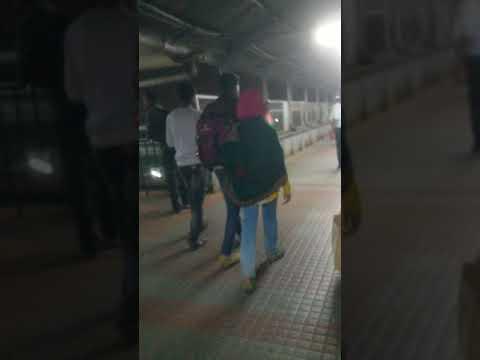 K.S.R Bangalore railway station inside walking tour in bangalore (India)