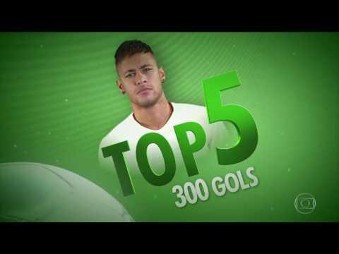 Top 5 gols mais bonitos da carreira de Neymar pelo Santos