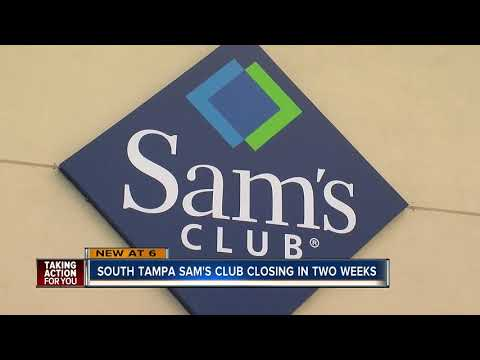 South Tampa Sam's Club to close as company announces nationwide closures