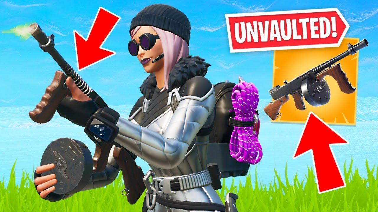 DRUM GUN UNVAULTED!! New Item Shop Skins! (Fortnite Battle Royale) thumbnail