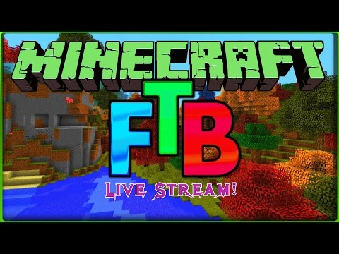 Minecraft FTB Infinity Server Play Live Stream! The List!