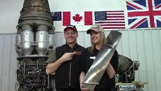Turbofan blade giveway!   My 500th Video