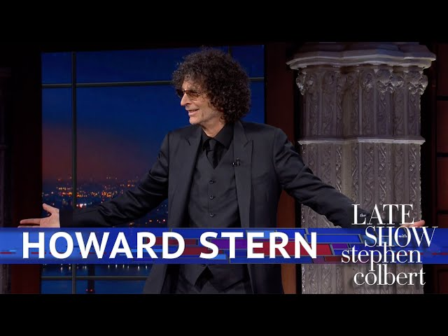 Howard Sterns Triumphant Return To The Late Show