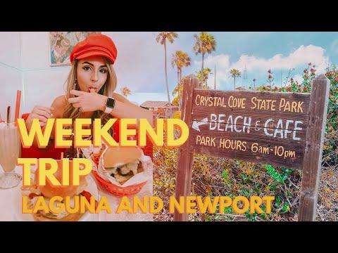 Weekend Trip: Laguna Beach, Newport Beach, And Crystal Cove In California - Exploring Orange County