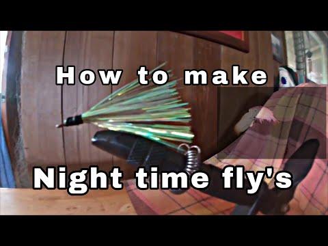 How To Make Fishing Fly's/night Time Fishing/fishing In Hawaii
