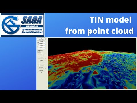 How To Easily Create TIN Model From Point Cloud
