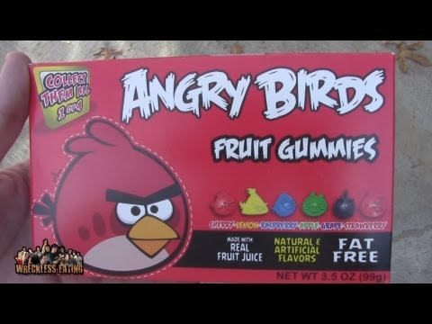 WE Shorts - Angry Birds Fruit Gummies