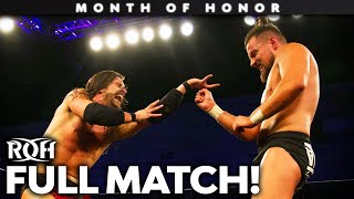 Adam Cole vs Marty Scurll: FULL MATCH! (ROH Supercard of Honor XI)