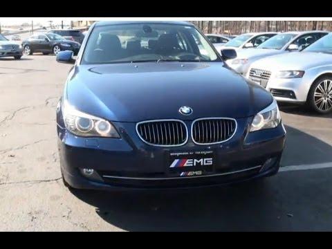 BMW Series I XDrive E Overview Test Drive YouTube - 2009 bmw 528xi