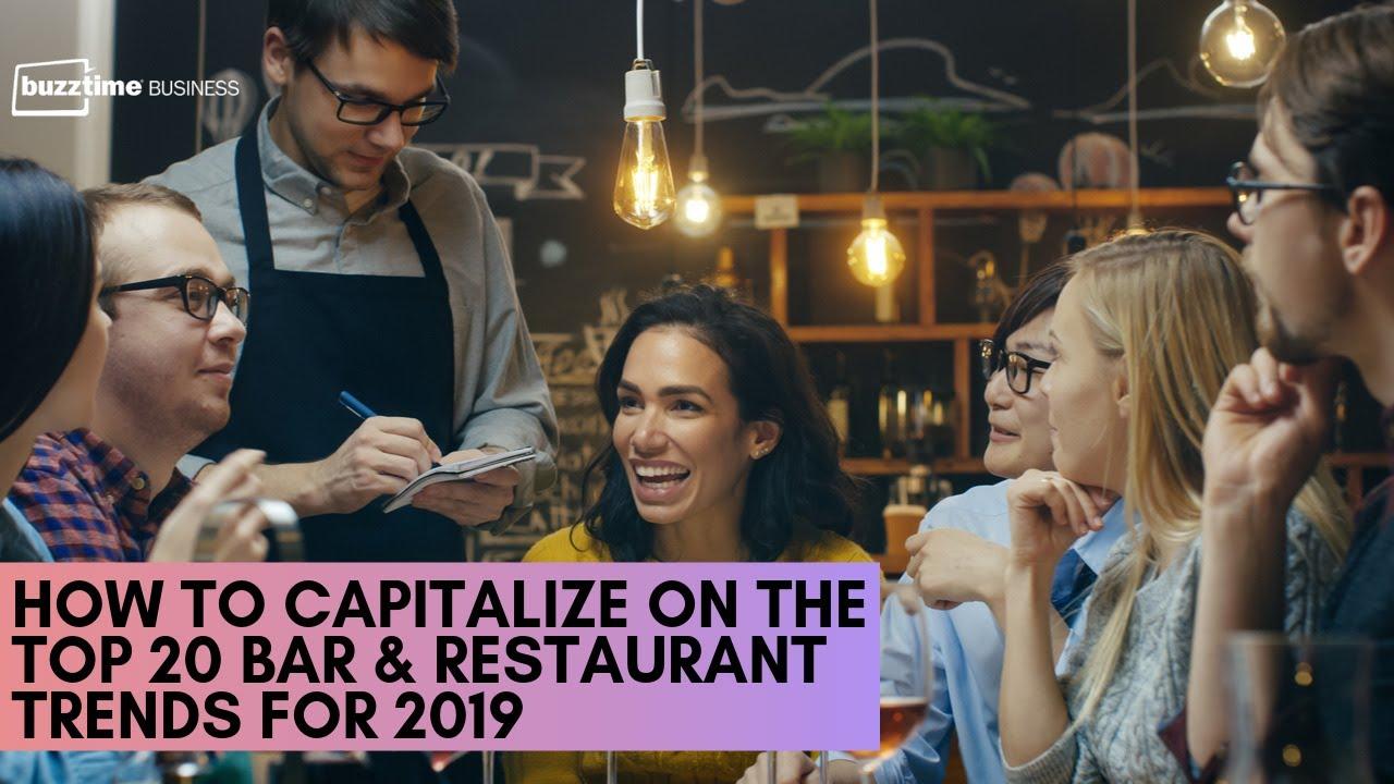 The Top 20 Bar & Restaurant Trends for 2018 (Webinar) - Buzztime