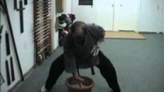 Traditional Okinawa Karate Training (Hojo Undo) No 4.mpg