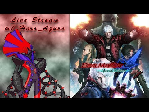 Devil May Cry 4 Stream w/ Hero_Azure (Road to Devil May Cry 5 FINALE!) thumbnail