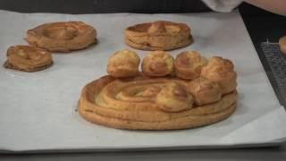 Las tartas de Zarina - Pasta choux para Paris Brest y Saint Honoré en Masterchef 2016