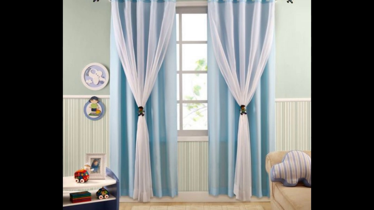 Cortinas para decorar habitaci n de ni as youtube - Cortinas para nina ...