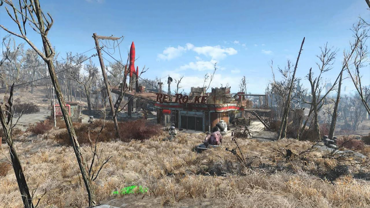 Fallout 4 Red Rocket Time Lapse