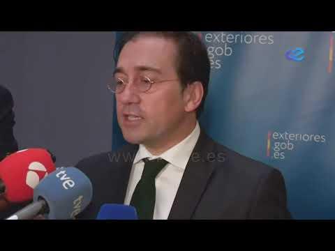 """Albares pide """"tranquilidad, tiempo y discreción"""" con Marruecos"""
