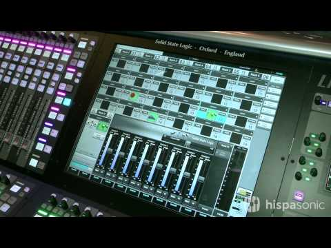 Live, la consola de directo de Solid State Logic