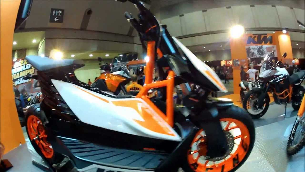 Electric Moped Scooter >> KTM E-SPEED Electric Scooter Overview - YouTube