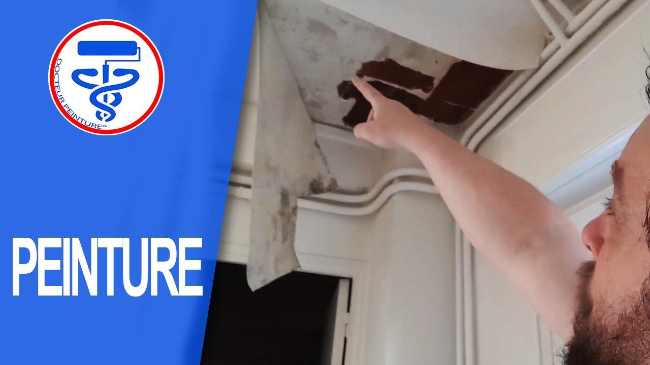 Réparation Ou Reboucher Un Trou énorme Au Plafond Ou Mur En