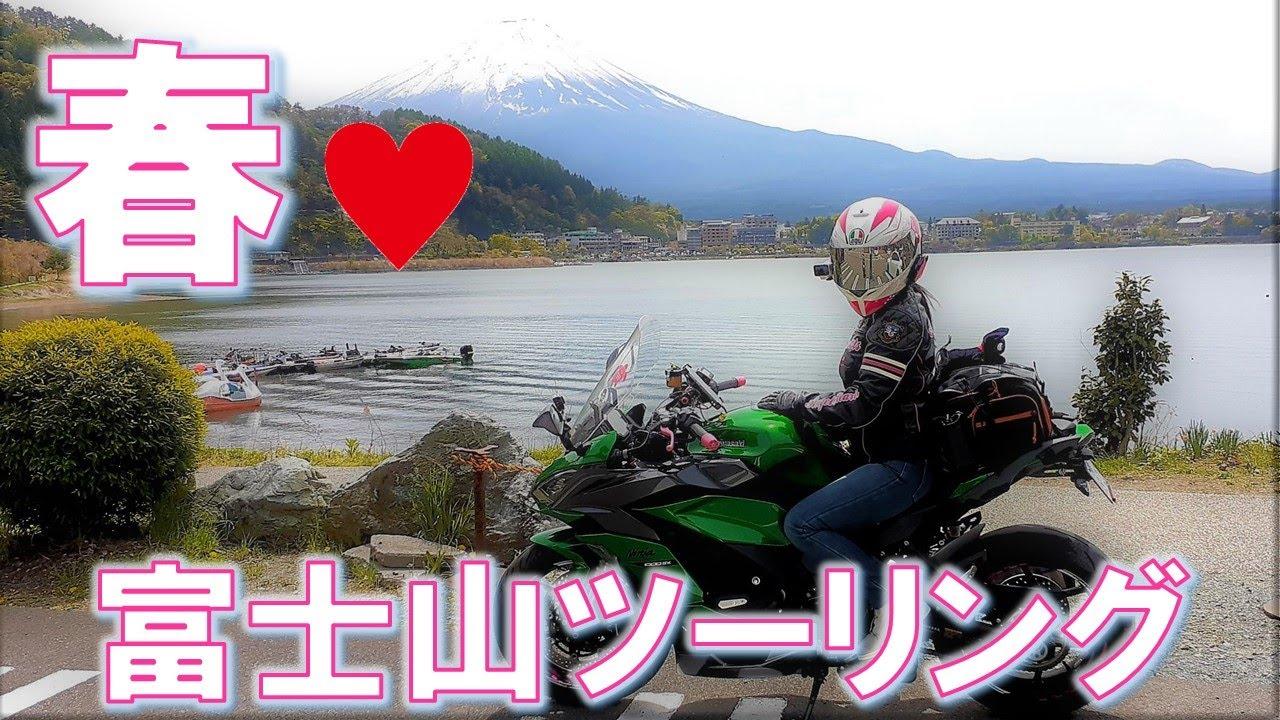 【Ninja1000SX】#82  まるでタイムスリップしたような、富士山がデカく見えるとウワサのレトロ商店街&ピンクの絨毯❤富士芝桜まつりに行ってきた!