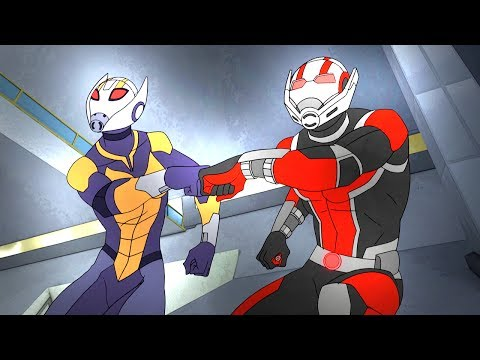 Ant-Man and Wasp | Marvel's Avengers: Secret Wars | Disney XD