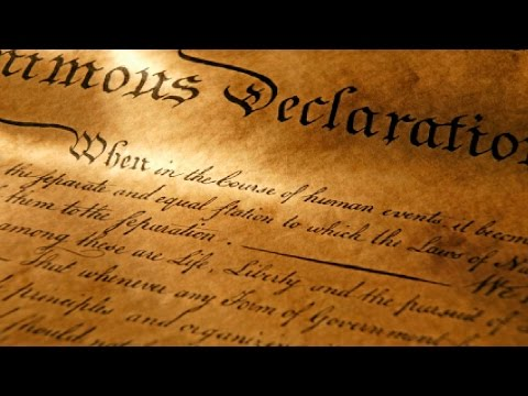 DECLARATION OF INDEPENDENCE - Sons of Liberty (History Channel)