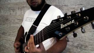 Michael Jackson - Smooth Criminal (8 string guitar COVER By Michel Oliveira)