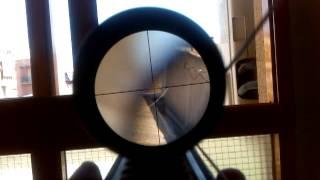Óptica 4x32 Swiss Arms TEST