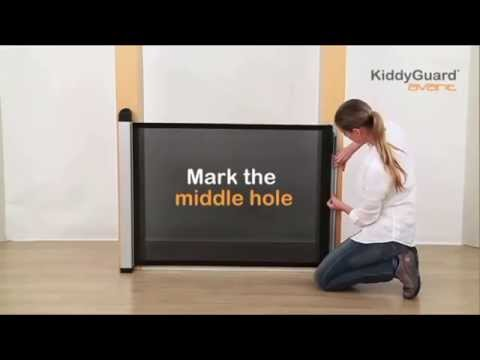 Lascal Kiddyguard Safety Gate - How To install in a doorway | Baby Security