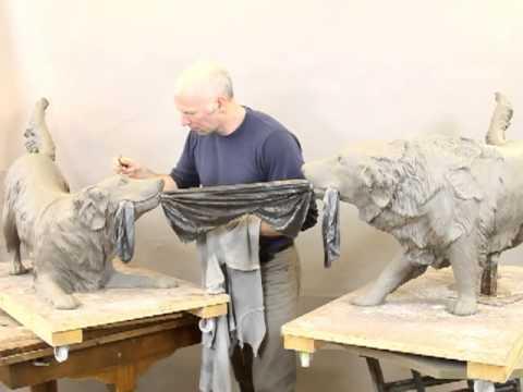 making sculpture