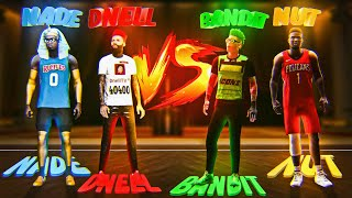 Bandit & Nut vs Nade & Dnell Best Of 7! If I Lose I Have To Switch To PS5 For NBA 2K21!