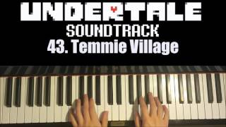Undertale OST - 43. Temmie Village (Piano Cover by Amosdoll)