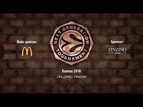 ANGT Kaunas 5th place game: Khimki Moscow Region – CFBB Paris