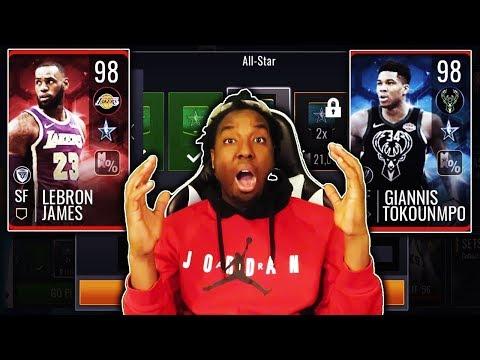 FULL BREAKDOWN OF THE NEW ALL STAR PROMO IN NBA LIVE MOBILE 19!!!