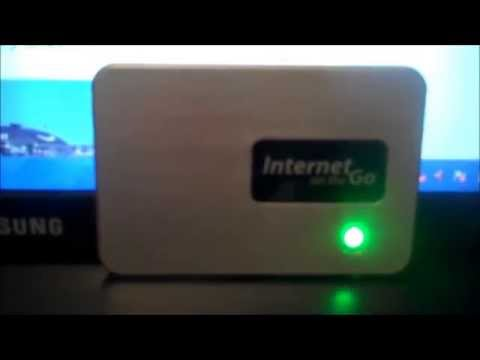 Internet on the Go - Review of Portable Internet available from Walmart