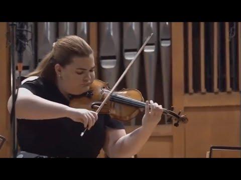Ellinor D'Melon (18) / Jan Latham-Koenig : Brahms Violin Concerto