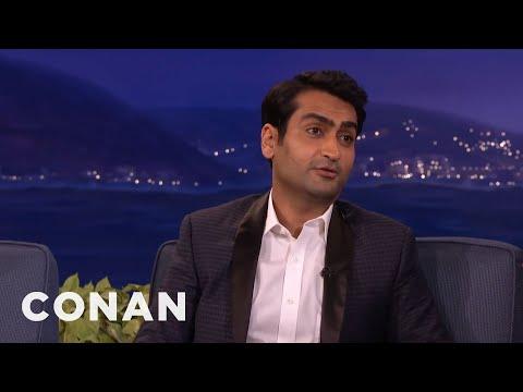 Kumail Nanjiani: The Muslim Cleric Who Married Me Was Into Beyoncé  - CONAN on TBS
